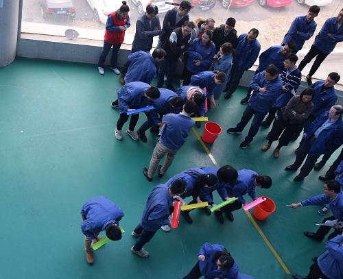 团体公司工会构造系列兴趣运动迎新年